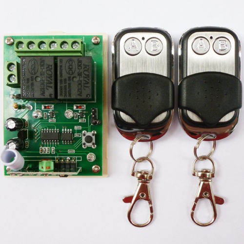 DC12V DIY Wireless Remote Control Universal Relay Application Home Automation
