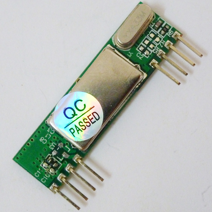 RF Wireless Receiver Module 433MHZ -112dBm Atmega8 AVR microcontrollers ASK OOK