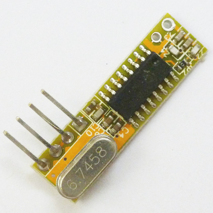 Super Het Remote RX Receiver Module 433HZ -107dBm France IC SYNOXO SYN470R