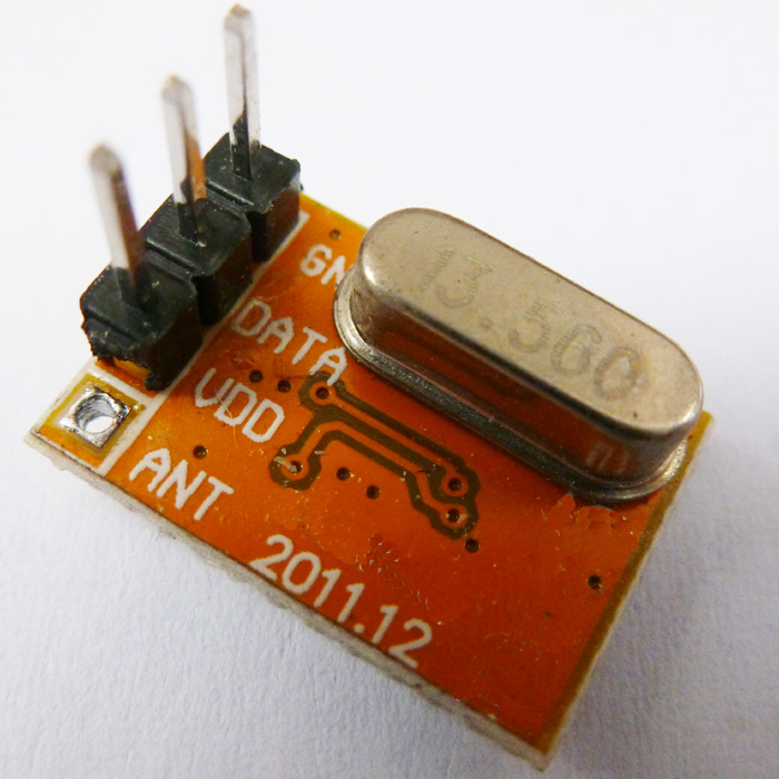 RF Wireless TX transmitters modules PLL 433MHZ 10dBm ±50KHz ASK OOK AM