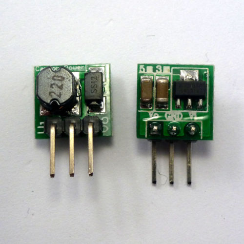2pcs 0.9V-5V to 5V DC-DC 2.54mm pitch Booster modules voltage regulator