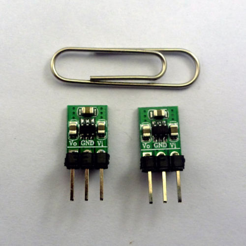 2pcs DC 1.8V 3V 3.7V 5V to 3.3V Step-UP-Down Power Supply Module replace AMS1117