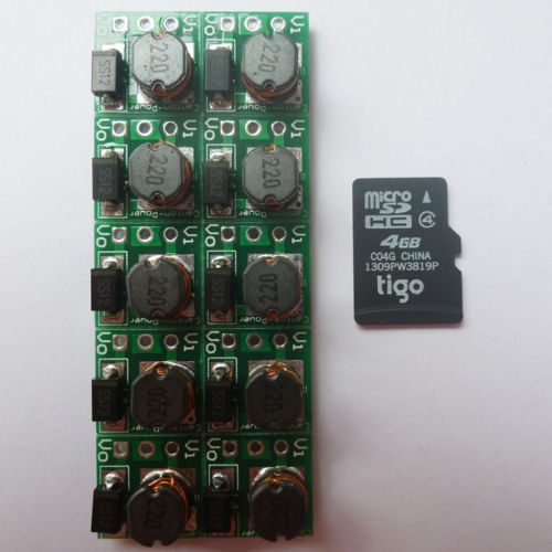 10P SMD Super Small Step Up Booster DC DC 0.8-3.3V to 3.3V Voltage Regulator