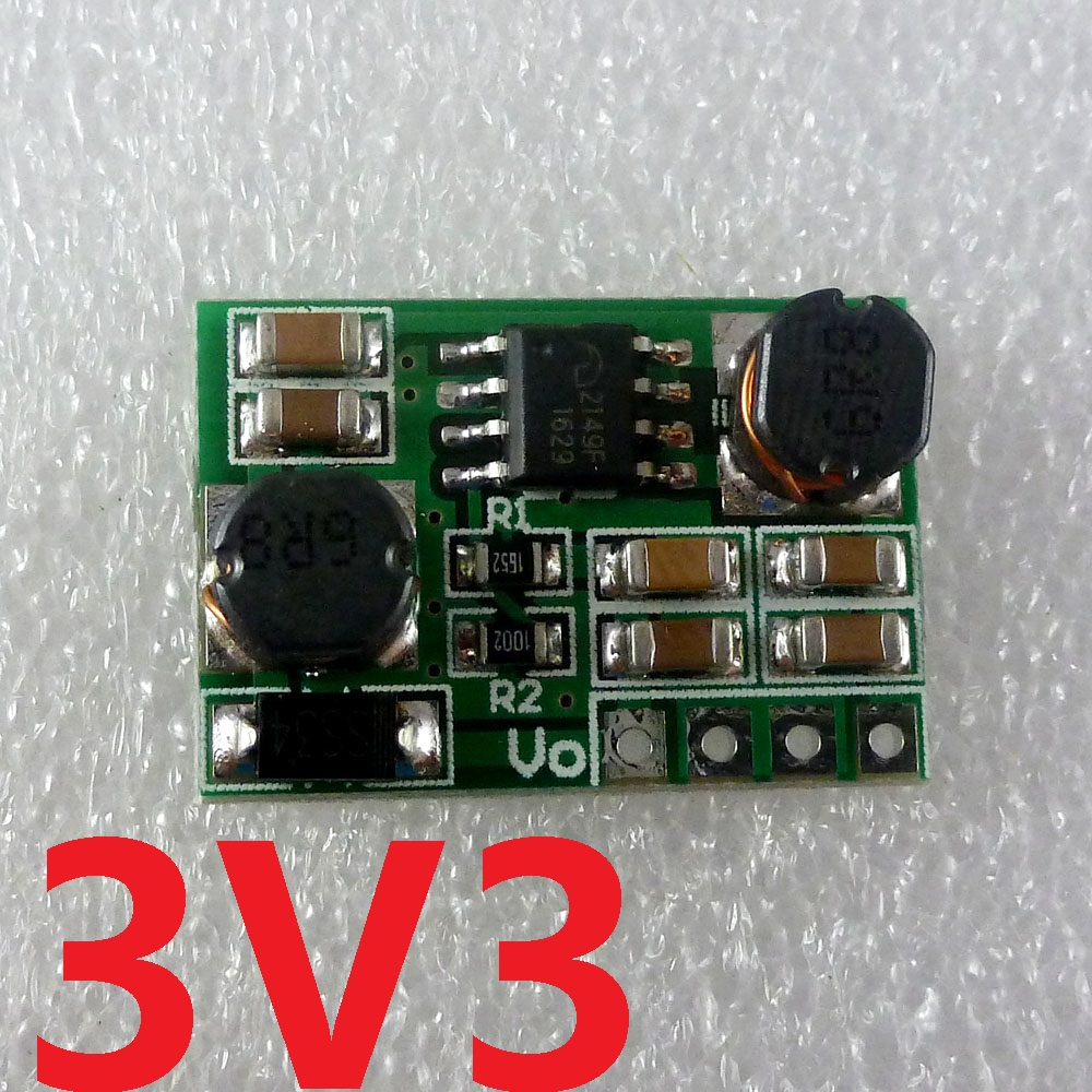 2 in 1 Boost-Buck 0.8-6V to 3.3V DC DC Converter Voltage regulator module DD0603SB_3V3