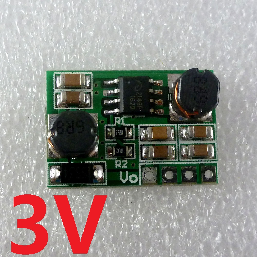 2in1 1.5V 2.5V 3.3V 3.7V 5V to 3V Buck-Boost DC DC Converter Board Power Module