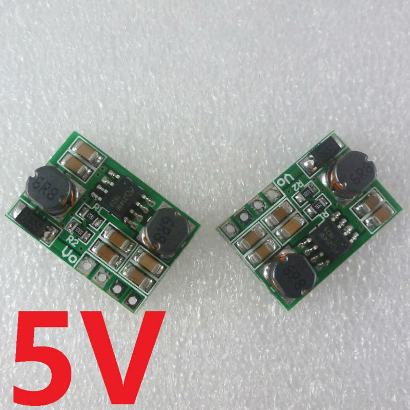 2pcs DC-DC Auto Boost Buck Step Up Step Down Converter Module Voltage Board for LED USB mobile phone charger