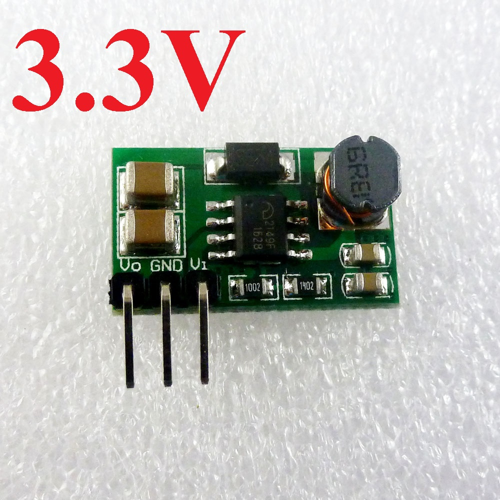 1.5V 1.8V 3V to 3.3V DC-DC Converter Step up Boost Module esp8266 nrf24l01 rtl8710 GSM Power supply Board