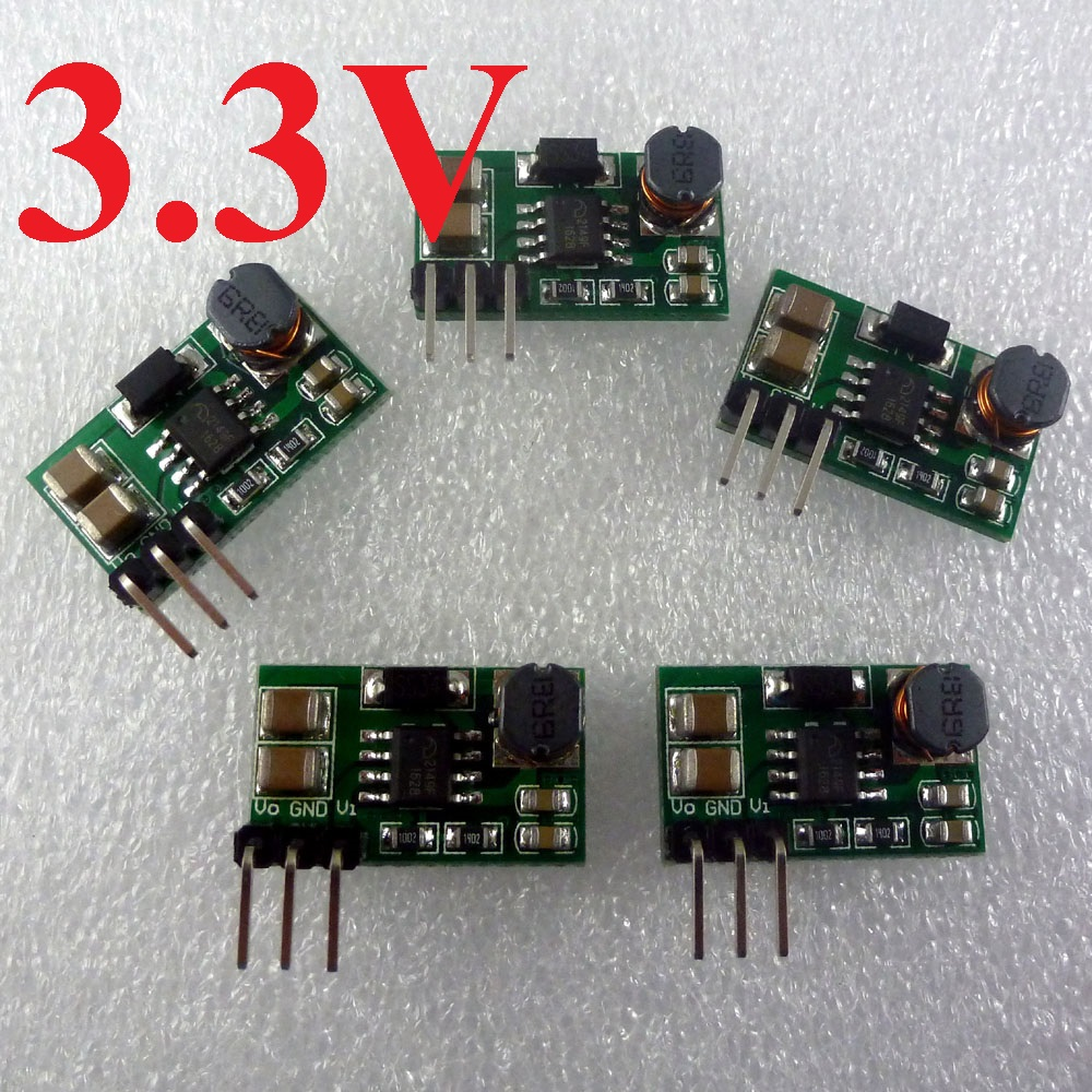 5pcs DD0606SA_3V3 1-3.3 to 3.3V DC DC Step up Boost Board Power supply Module for Bluetooth Wifi RF Wireless Board