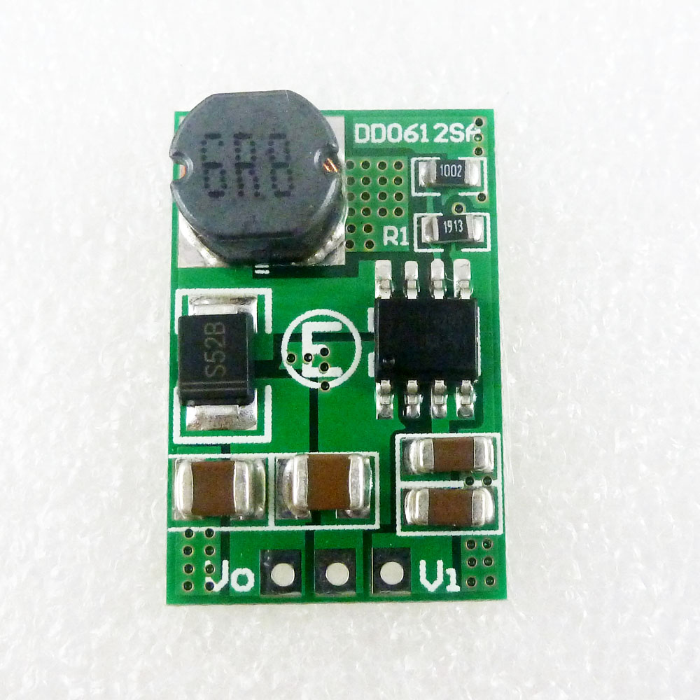 15W 2.6-5V TO 6V DC-DC Step-up Boost Converter Voltage Regulated Power Supply Module Board