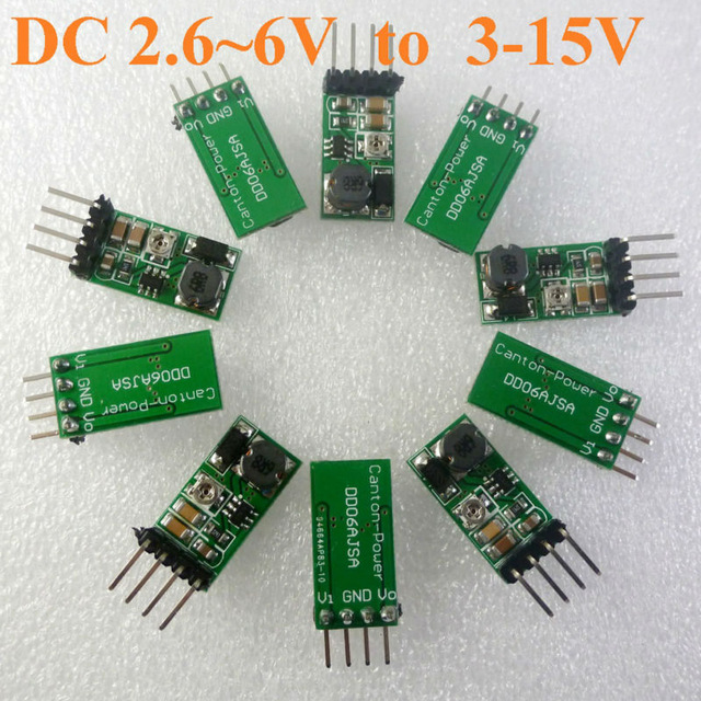 10PCS FP6291 1.4A Step-Up Current Mode PWM Converter Voltage Regulator Module DC 2.6-6V to 3-15v Adjustable Output Power supply