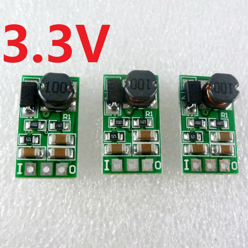 DC 5-24V to 3.3V Step-Down Buck DC-DC Converte Power Supply for Wifi Bluetooth Module replace AMS1117-3.3 LM1117-3.3