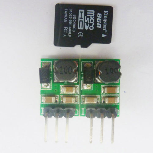2pcs 5W DC-DC Buck Power Board 5V-36V to 5 12V 24v car Power Module 78L05 78L12