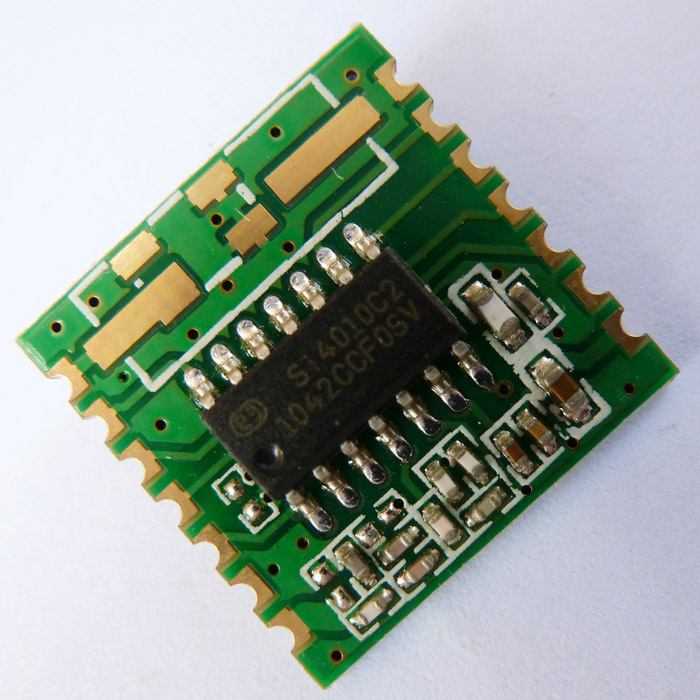 SI4010 Wireless Transmitter Module 8051 MCU ASK OOK C51 433MHz SOC Modules