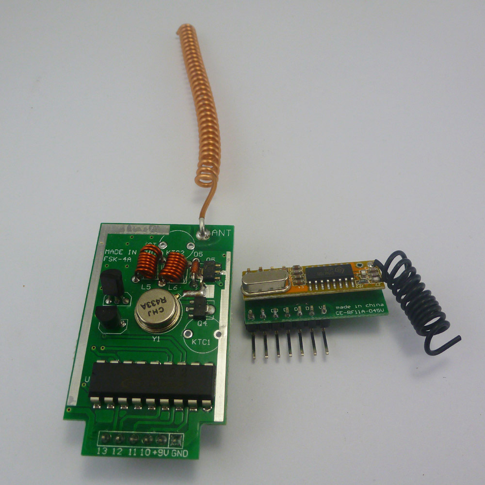 433mhz Pt2262 Pt2272 Ev1527 Arduino Encoder Decoder Rf Delay In This Circuit A Nonlocking Push Switch Is Used To Activate Load Loading Zoom