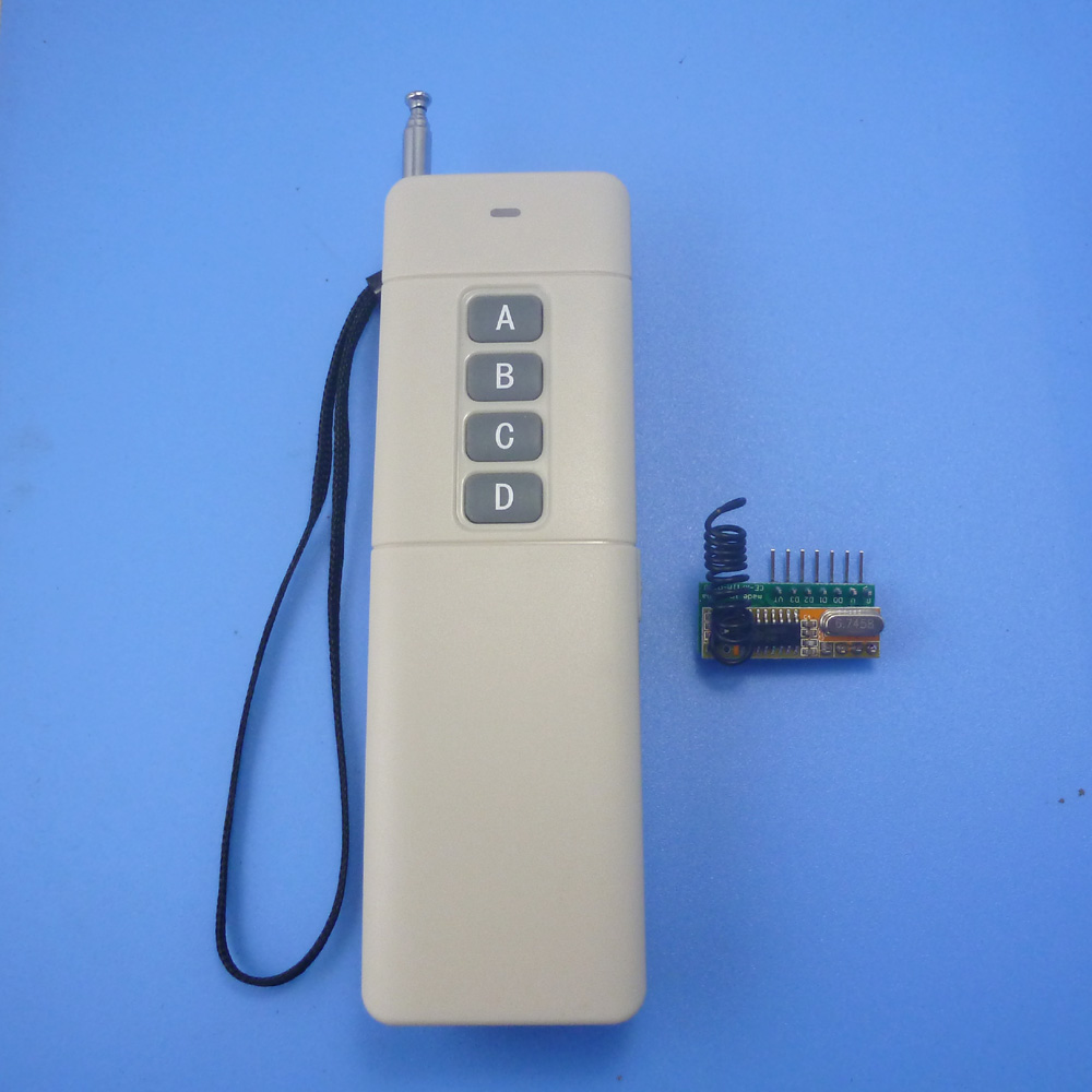 433.92MHz ASK OOK Wireless Switch DC5V Wireless Control Kits RF Link Control