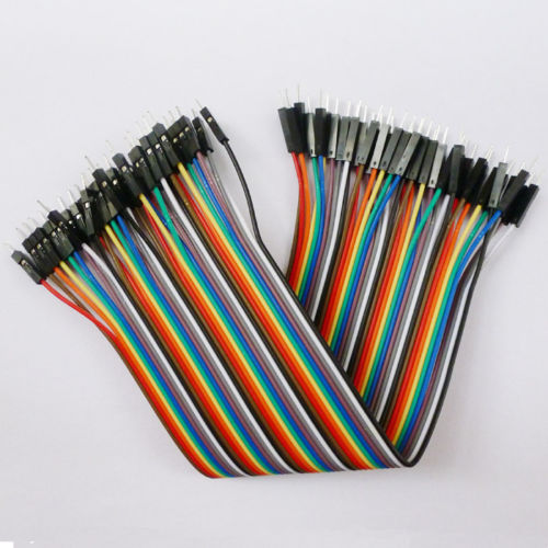 40 ROOTs 1P to 1P Male to Male Dupont Cable Arduino Breadboard Connector Jumper