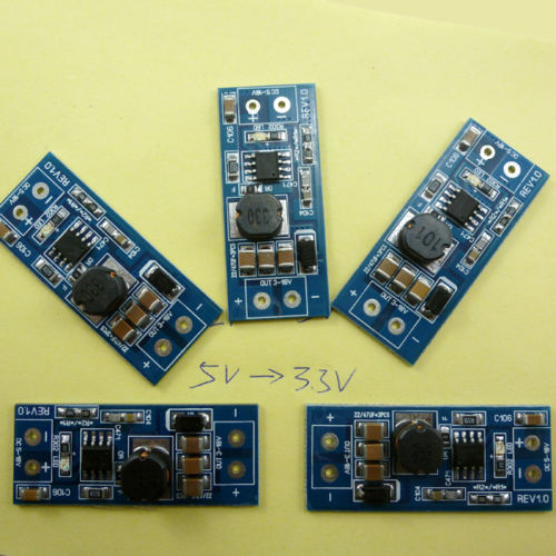 5pcs DC-DC DC9V 6V 5V 4.5V to 3.3V Buck Step Down Module MC34063 Replace AMS1117