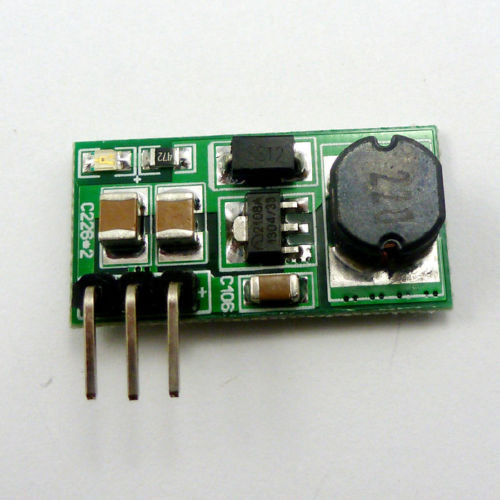 DC-DC ( Input 0.8-3.3V ) ( Output 3.3V ) Step-UP Boost Voltage Converter Module