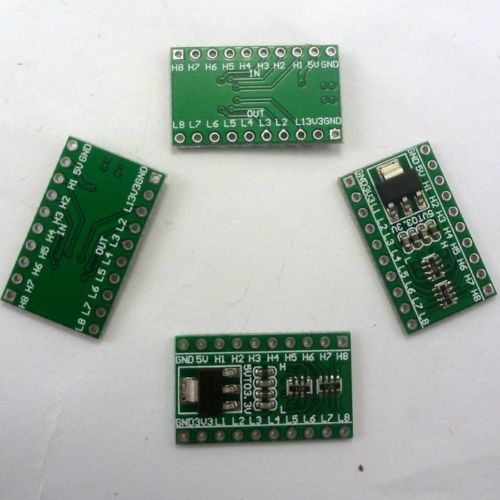 4P 2 IN 1 AMS1117-3.3V DC 5V to 3.3V LDO & 3.3V-5V Logic Level Converter Arduino