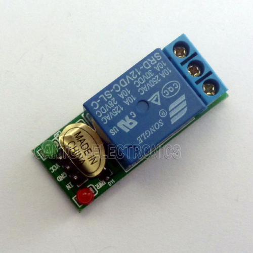 1 Channel DC 12V High level Relay Module Shield for Touch Sensor Delay Switch