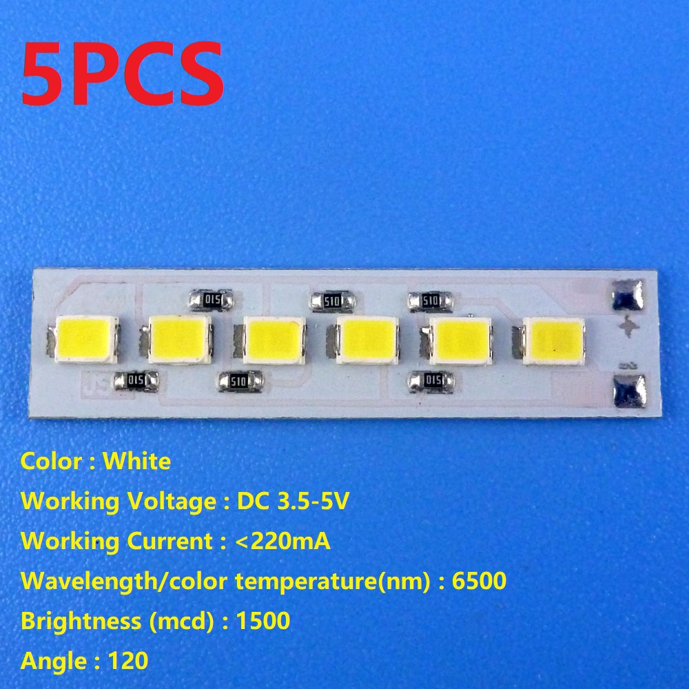 5x Dc 37v 5v 12w White Led Light 1x 35 2a Touch Switch Circuit With Switches In Parallel A Lamp And Cell The