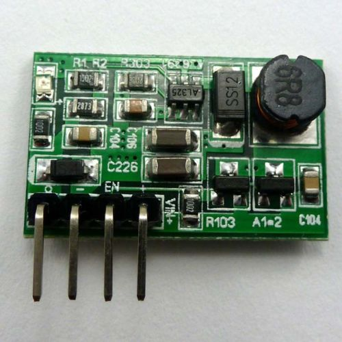 1A DC-DC (Input 3-6V ) (Output 6V ) Step-UP Power Converter Voltage Module Motor