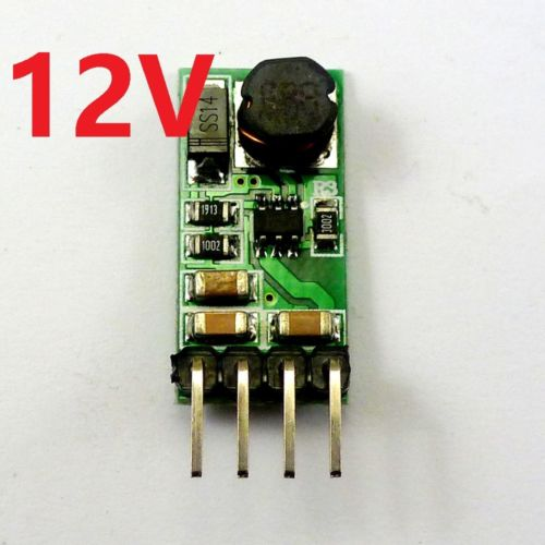 DC 3.3V 3.7V 5V 6V to 12V Boost Voltage Regulator Converter Step-up Power Supply