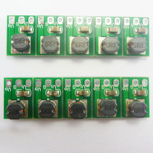 10p PCB Mounted SMD without Pin DC3.3V Buck Power 4.5V 4.2V 3.7V 5V to 3.3V