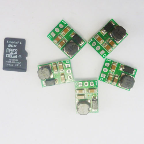 5p Mini Size without pin 5W DC-DC 5V-36V to 5 12V 24v Step-down Power Module