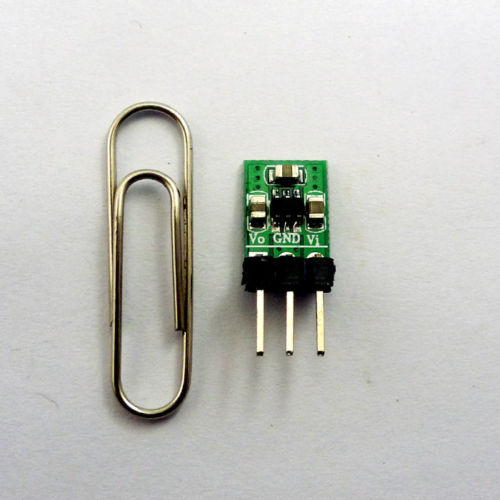 2 in 1 DC DC Step-Down & Step-Up Converter 1.8V-5V 3V 3.7V to 3.3V Power Module