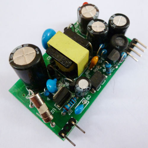 AC-DC AC85-265V Dual Out DC 12V 5V 200mA 4W Isolation Switch Power Supply Module
