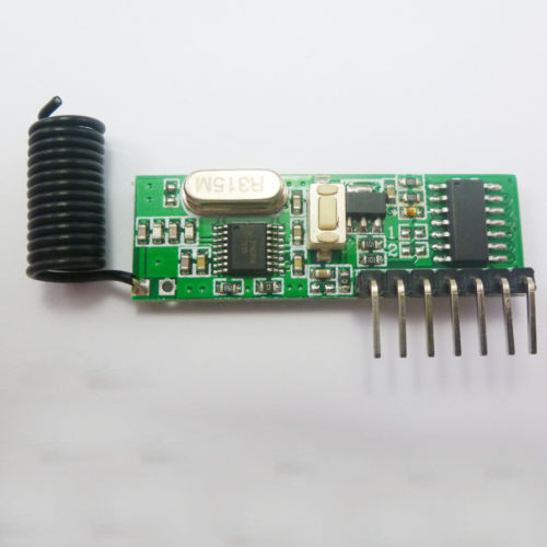DC 12V 1527 2262 Fixed Code Decoder Receivers ASK RF Wireless Modules 315MHz